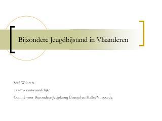 Bijzondere Jeugdbijstand in Vlaanderen