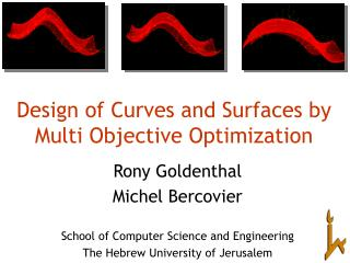 Design of Curves and Surfaces by Multi Objective Optimization