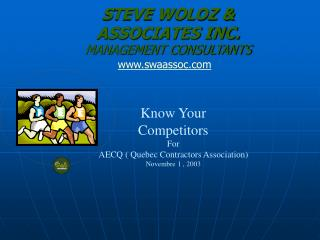 S TEVE WOLOZ &  ASSOCIATES INC. MANAGEMENT CONSULTANTS