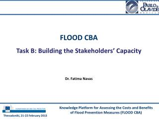 Knowledge Platform for Assessing the Costs and Benefits of Flood Prevention Measures (FLOOD CBA)