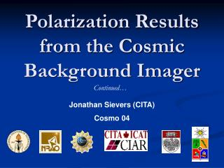 Polarization Results from the Cosmic Background Imager