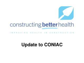 Update to CONIAC