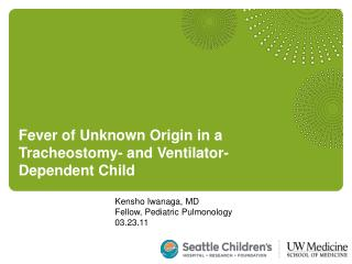 Kensho Iwanaga, MD Fellow, Pediatric Pulmonology 03.23.11