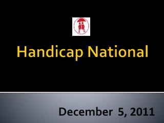 Handicap National