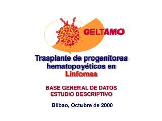 Trasplante de progenitores hematopoyéticos en  Linfomas