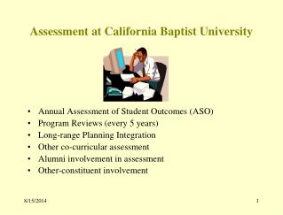 Assessment at California Baptist University