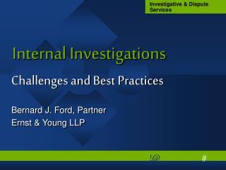 Internal Investigations