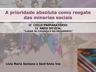 L ívia Maria Santana e Sant'Anna Vaz