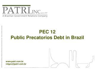 patri.br relgov@patri.br