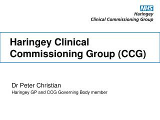 Haringey Clinical Commissioning Group (CCG)