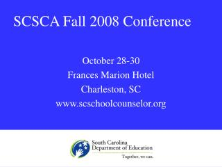 SCSCA Fall 2008 Conference