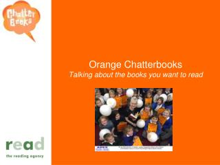 Orange Chatterbooks Talking about the books you want to read