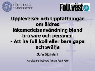 Sofia Bj�rkdahl
