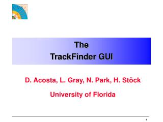 The TrackFinder GUI