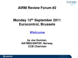 Review Forum Meetings