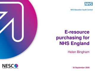 E-resource purchasing for  NHS England