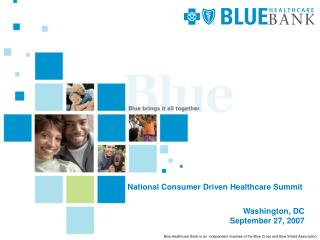 National Consumer Driven Healthcare Summit
