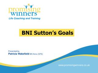 BNI Sutton�s Goals