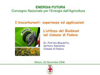 Milano, 22 Novembre 2006