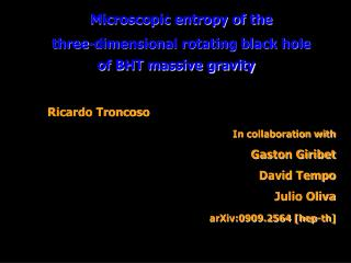 Microscopic entropy of the  three-dimensional rotating black hole