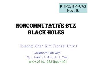 Noncommutative BTZ Black Holes