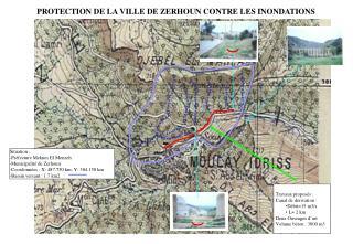 PROTECTION DE LA VILLE DE ZERHOUN CONTRE LES INONDATIONS