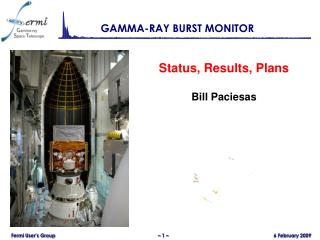 GAMMA-RAY BURST MONITOR