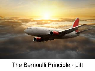 The Bernoulli Principle - Lift