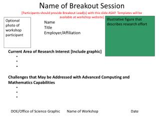 Current Area of Research Interest [Include graphic]