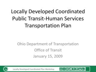 Unmet Transit Needs Process