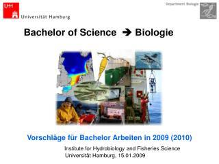 Bachelor of Science     Biologie