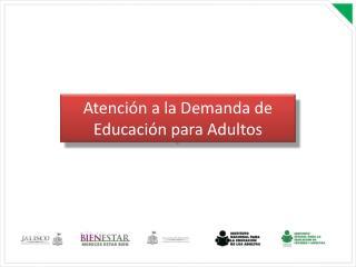 Atención a la Demanda de Educación para Adultos