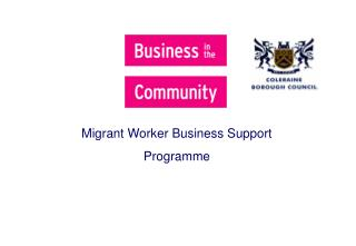 Migrant Worker Business Support Programme