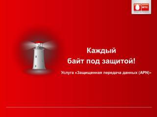 Услуга «Защищенная передача данных ( APN )»