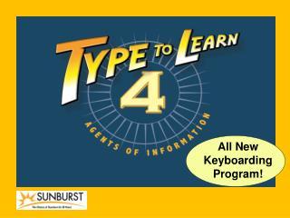 All New Keyboarding Program!
