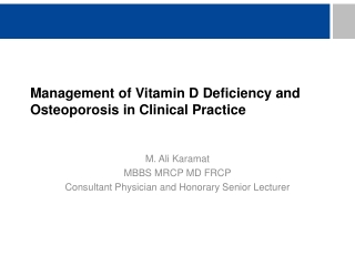 Effects of Vitamin D and Calcium Supplementation on Falls: A Randomized Controlled Trial