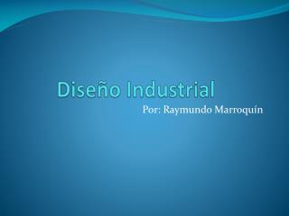 Dise�o Industrial