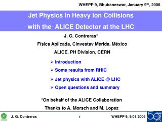 Jet Physics in Heavy Ion Collisions  with the   ALICE Detector at the LHC