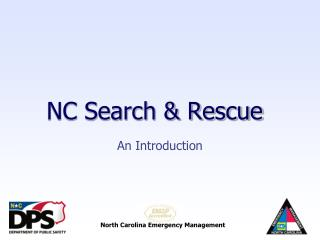 NC Search & Rescue