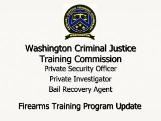 Washington Criminal Justice Training Commission