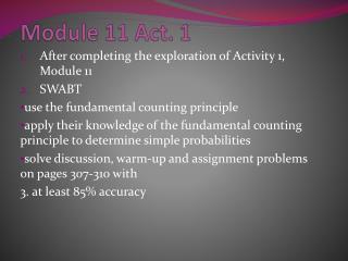 Module 11 Act. 1