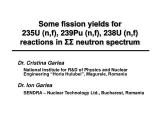 Some fission yields for 235U (n,f), 239Pu (n,f), 238U (n,f) reactions in ΣΣ neutron spectrum