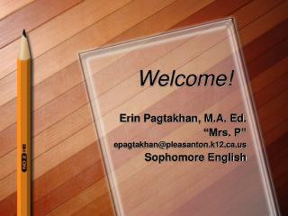 Sophomore English