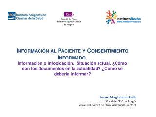 Información al Paciente y Consentimiento Informado .