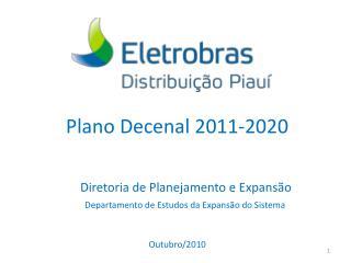 Plano Decenal 2011-2020