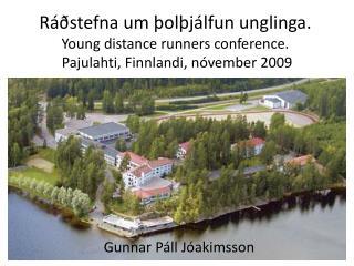 Gunnar Páll Jóakimsson