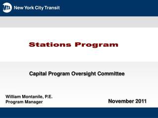 Stations Program