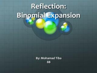 Reflection: Binomial Expansion