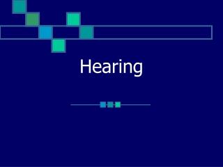 CHARACTERISTICS OF SOUND