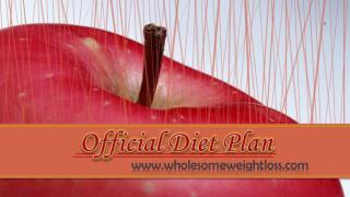 Official Diet Plan
